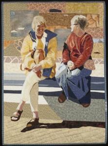 Friendship Mosaic, 38 X 27.5, $700